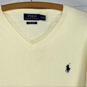 Polo Ralph Lauren Pima cotton sweater size large